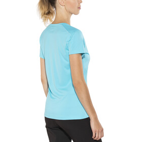 Columbia Zero Rules - T-shirt manches courtes Femme - bleu